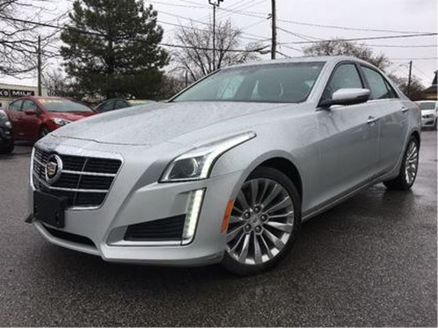 2014 CADILLAC CTS 2.0L Turbo Luxury AWD LEATHER COOLED SEATS PANROOF in St Catharines, Ontario