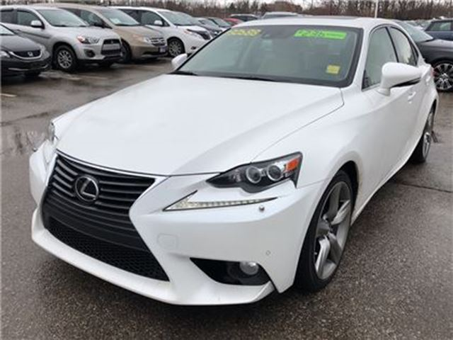 2014 LEXUS IS 350 4DR SDN AWD in Mississauga, Ontario