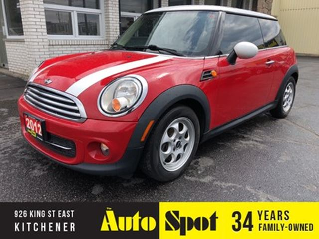 2012 MINI COOPER LOADED/LOW,LOW KMS/PRICED FOR A QUICK SALE in Kitchener, Ontario