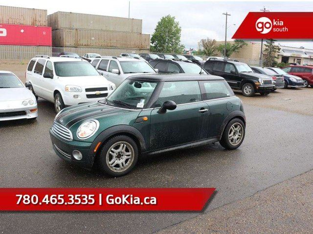 2009 MINI COOPER SUNROOF, LEATHER, 6 SPEED, A/C, CRUISE in Edmonton, Alberta