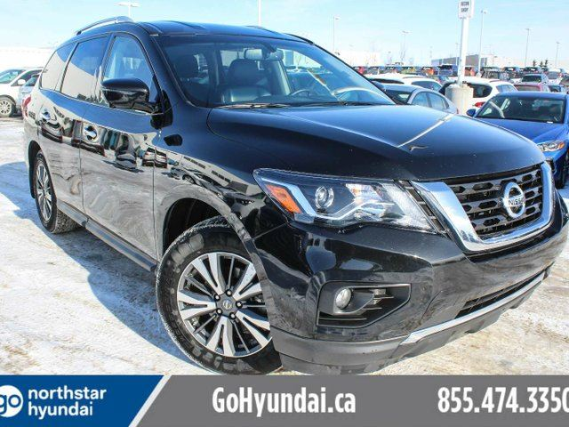 2017 NISSAN PATHFINDER SL LEATHER/360CAM/POWERLIFTGATE/HEATEDSTEERING in Edmonton, Alberta