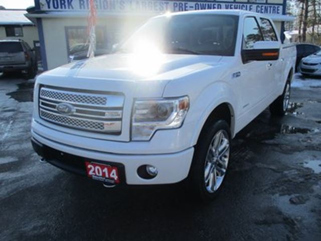 2014 FORD F-150 LOADED LIMITED EDITION 5 PASSENGER 3.5L - ECO-B in Bradford, Ontario