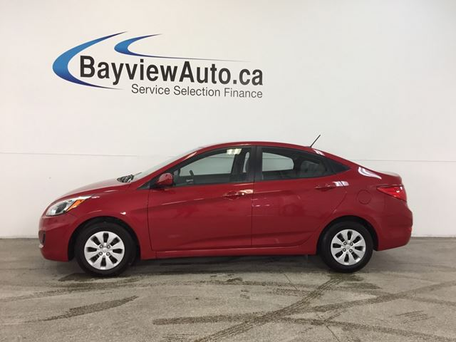 2016 HYUNDAI ACCENT - GDI AUTO HTD STS BLUETOOTH CRUISE ECO MODE! in Belleville, Ontario