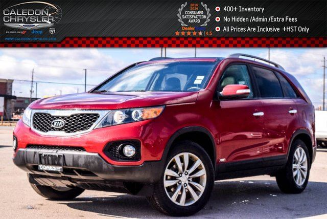 2011 KIA SORENTO EX AWD Bluetooth Backup Cam Leather Heated Front Seats 18Alloy Rims in Bolton, Ontario