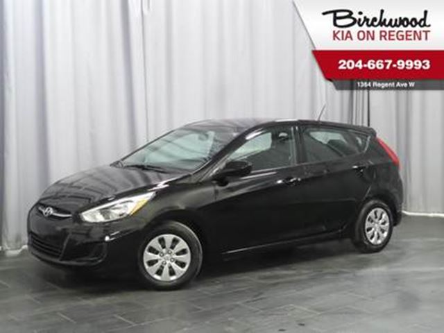 2017 HYUNDAI ACCENT GL **Just arrived and ready to GO!!! ** in Winnipeg, Manitoba