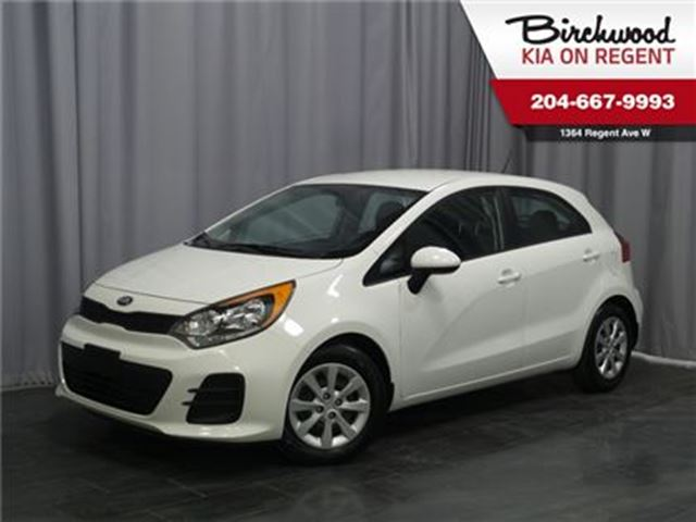 2017 KIA RIO LX+ **Just arrived and ready to GO!!! ** in Winnipeg, Manitoba