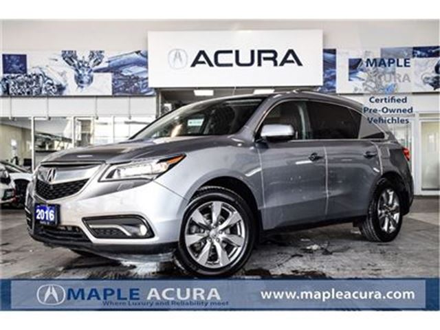 2016 ACURA MDX Elite Package in Maple, Ontario