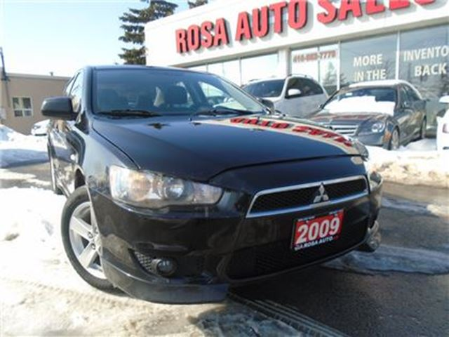 2009 MITSUBISHI LANCER 4dr Sdn auto SE LOW KM  NO ACCIDENTS, PL,PW,PM HEA in Oakville, Ontario