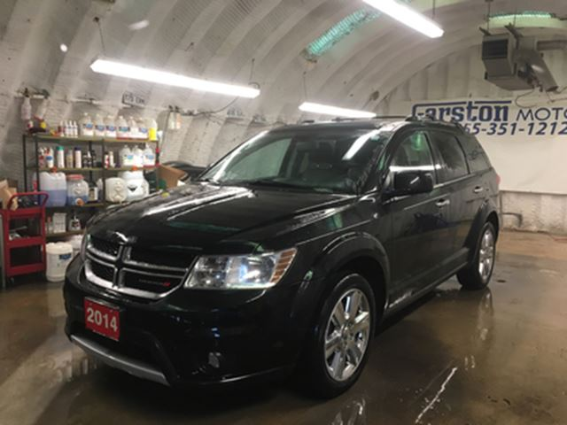 2014 DODGE JOURNEY R/T AWD*7 PASSENGER*NAVIGATION*POWER SUNROOF*LEATH in Cambridge, Ontario