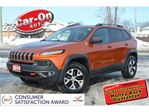 2015 Jeep Cherokee Trailhawk 4X4 LEATHER NAV HTD SEATS REAR CAM in Ottawa, Ontario