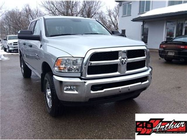 2017 Dodge RAM 2500 SLT Crew Cab 4x4...Cummins...ONLY 14,715 Km in Arthur, Ontario