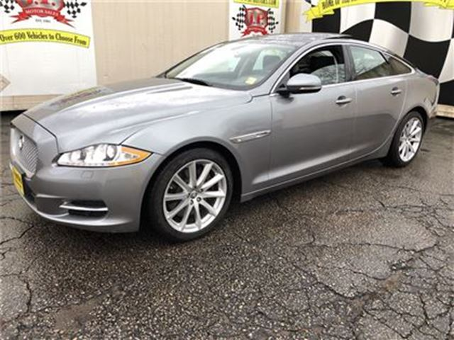 2012 JAGUAR XJ SERIES XJ Automatic, Navigation, Leather, Only 87, 000km in Burlington, Ontario