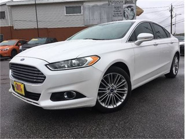 2014 FORD FUSION SE LEATHER NAVIGATION MOONROOF in St Catharines, Ontario