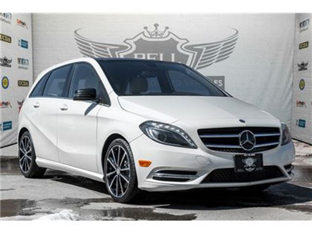 2014 MERCEDES-BENZ B-CLASS SPORTS TOURER PANORAMIC SUNROOF LEATHER BLUETOOTH in Toronto, Ontario