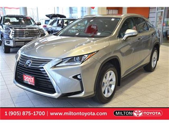 2017 LEXUS RX 350 AWD, Moonroof, Push Start in Milton, Ontario