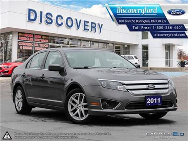 2011 FORD FUSION SEL 3.0L V6 LEATHER in Burlington, Ontario