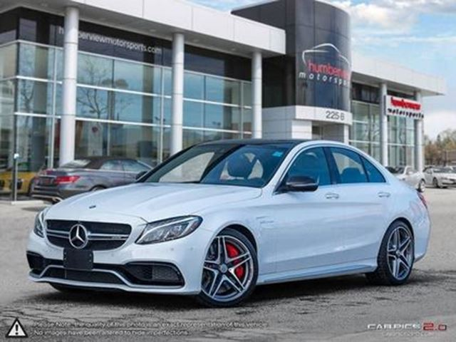 2017 MERCEDES-BENZ C63 AMG S AMG   FULLY LOADED in Mississauga, Ontario