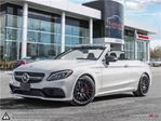 2017 Mercedes-Benz C63 AMG S AMG CONVERTIBLE   FULLY LOADED in Mississauga, Ontario