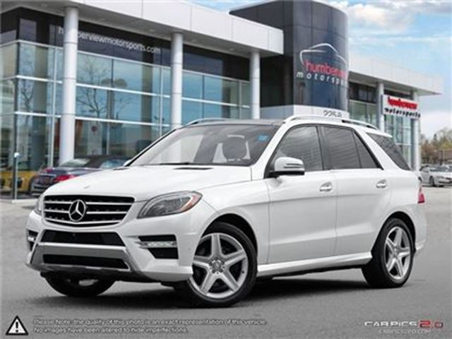 2014 MERCEDES-BENZ M-Class ML350 4MATIC   NAVI   ROOF   CAMERA in Mississauga, Ontario