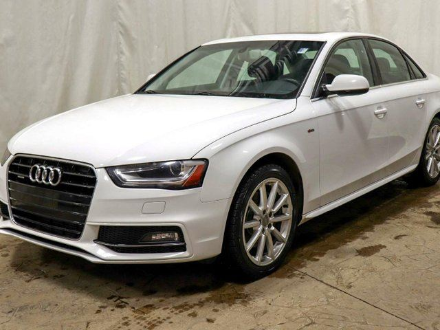 2016 AUDI A4 2.0T Progressiv plus quattro S Line AWD w/ Leather, Navigation in Edmonton, Alberta
