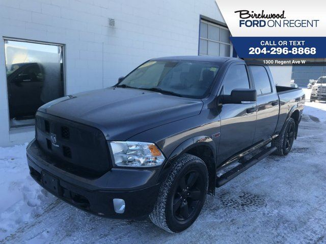 2016 DODGE RAM 1500 Outdoorsman 4X4 Crewcab*Ecodiesel/Bucket Seats* in Winnipeg, Manitoba