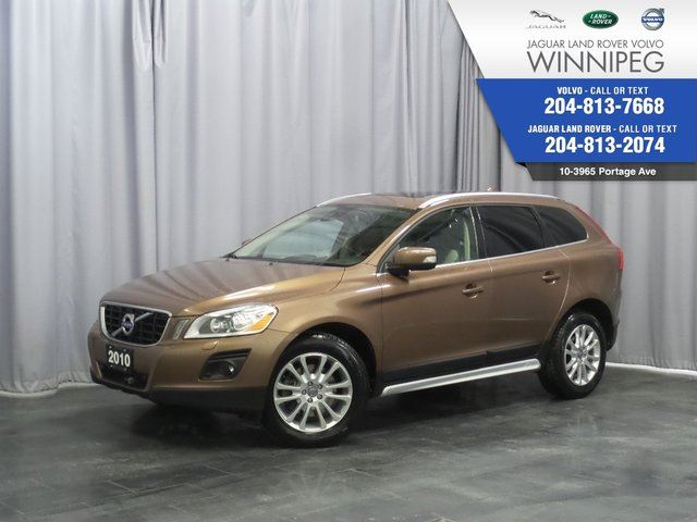 2010 VOLVO XC60 T6 *HEATED FRONT AND REAR SEATS* in Winnipeg, Manitoba