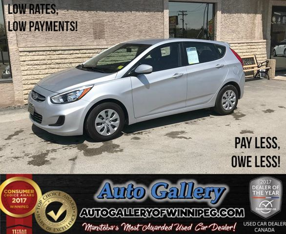 2016 HYUNDAI ACCENT GL *Only 2,835 KMs! in Winnipeg, Manitoba