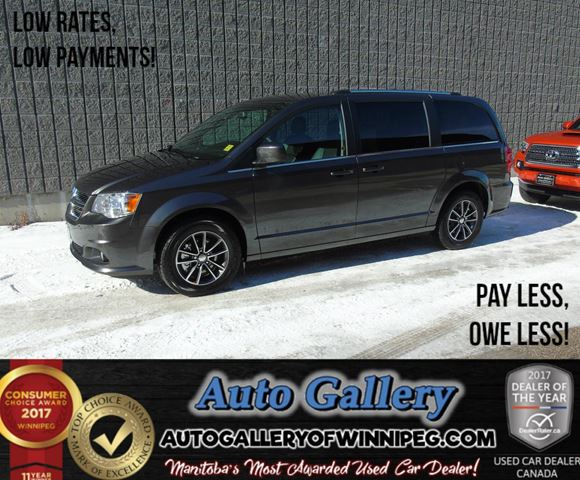 2017 DODGE GRAND CARAVAN SE *ONLY 19 KMs! in Winnipeg, Manitoba