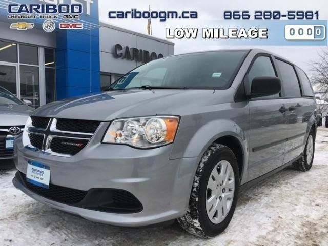 2016 DODGE GRAND CARAVAN Canada Value Package in Williams Lake, British Columbia