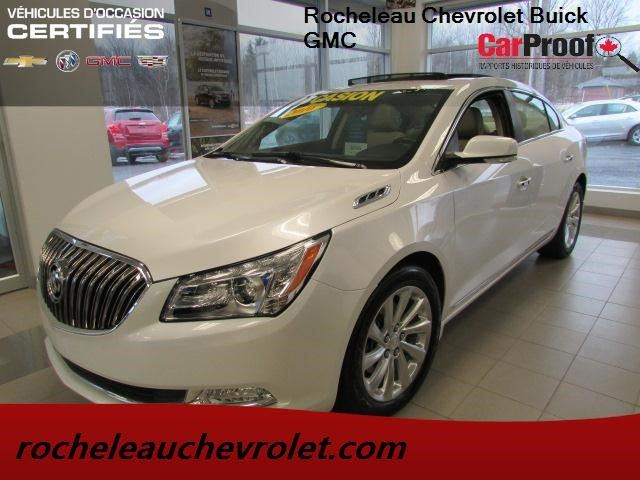 2016 Buick LaCrosse Leather in Cowansville, Quebec