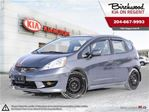 2011 Honda Fit Sport **Local Trade with Winter Tires ** in Winnipeg, Manitoba