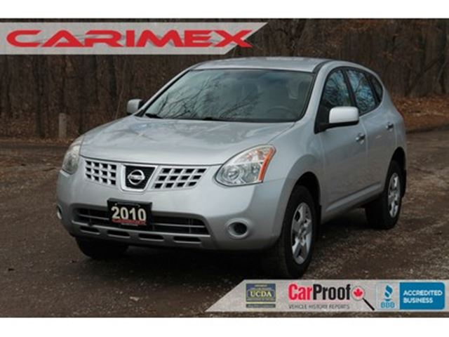 2010 NISSAN ROGUE S CERTIFIED in Kitchener, Ontario