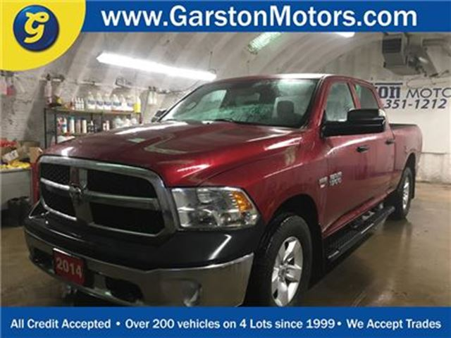 2014 DODGE RAM 1500 SXT*CREW CAB*4WD*HEMI*FOLD OUT TOW MIRRORS*FOG LIG in Cambridge, Ontario
