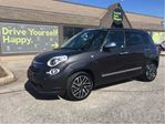 2015 Fiat 500L Lounge / SUNROOF / LEATHER / NAVIGATION in Fonthill, Ontario
