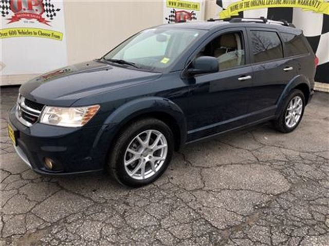 2015 DODGE JOURNEY R/T, Automatic, Leather, 3RD Row Seating, AWD in Burlington, Ontario