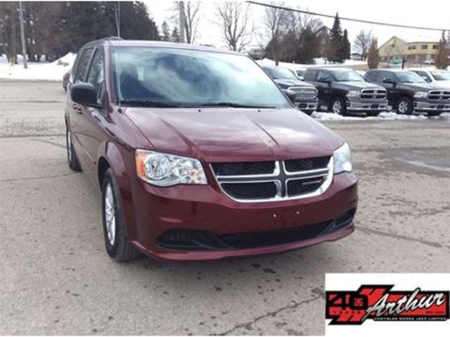 2017 Dodge Grand Caravan SXT Full Stow & Go....Only 111,334 Km in Arthur, Ontario