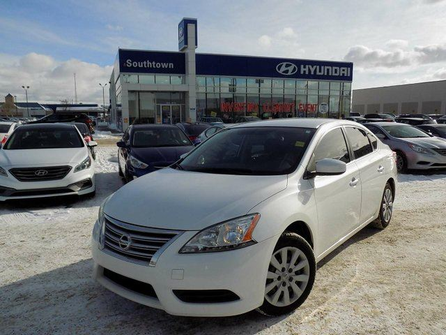 2013 NISSAN SENTRA 1.8 S/BLUETOOTH/AC/POWER OPTIONS in Edmonton, Alberta