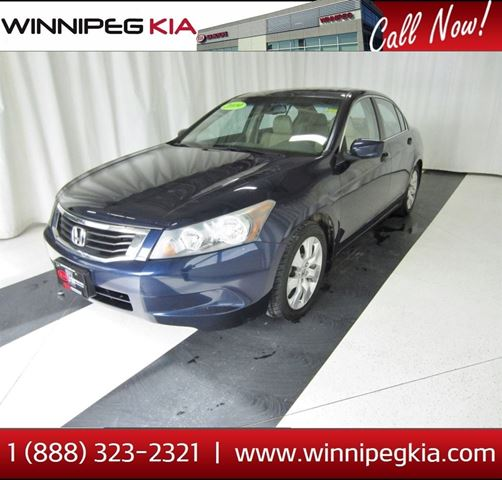 2009 HONDA ACCORD EX-L in Winnipeg, Manitoba