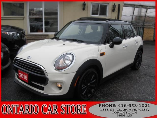 2016 MINI COOPER 5DR. !!!1 OWNER NO ACCIDENTS!!! in Toronto, Ontario