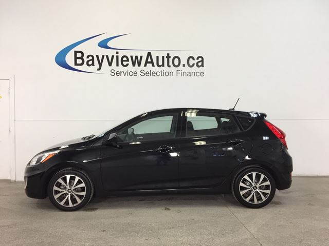 2017 HYUNDAI ACCENT SE- 1.6L ALLOYS HTD STS BLUETOOTH CRUISE! in Belleville, Ontario