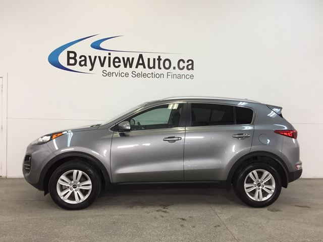 2017 KIA SPORTAGE LX- AWD|ALLOYS|HTD STS|A/C|REV CAM|BLUETOOTH! in Belleville, Ontario