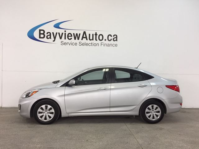 2016 Hyundai Accent - 1.6L|AUTO|HTD STS|A/C|BLUETOOTH|CRUISE! in Belleville, Ontario