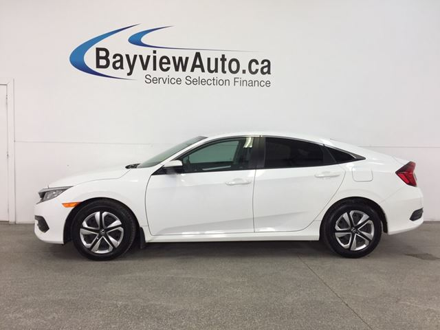 2017 HONDA CIVIC LX- 6 SPEED|TINT|HTD STS|REV CAM|BLUETOOTH|CRUISE! in Belleville, Ontario