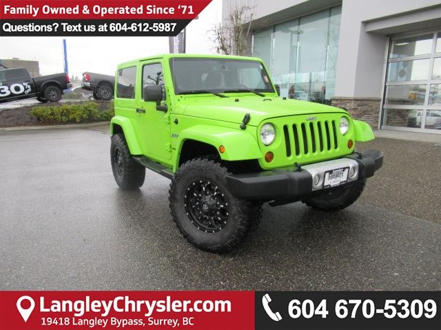2013 JEEP WRANGLER Sahara <B>*ACCIDENT FREE*RIMS*LEATHER*<b> in Surrey, British Columbia