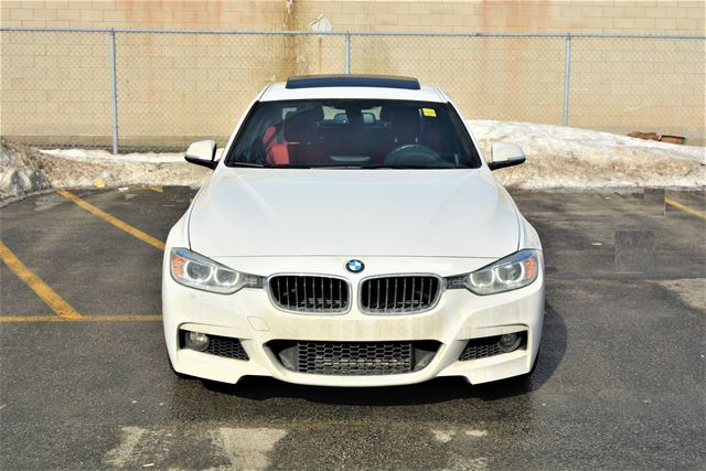 2015 BMW 3 SERIES 328i M PKG | RED INTERIOR | Navigation  in Brampton, Ontario