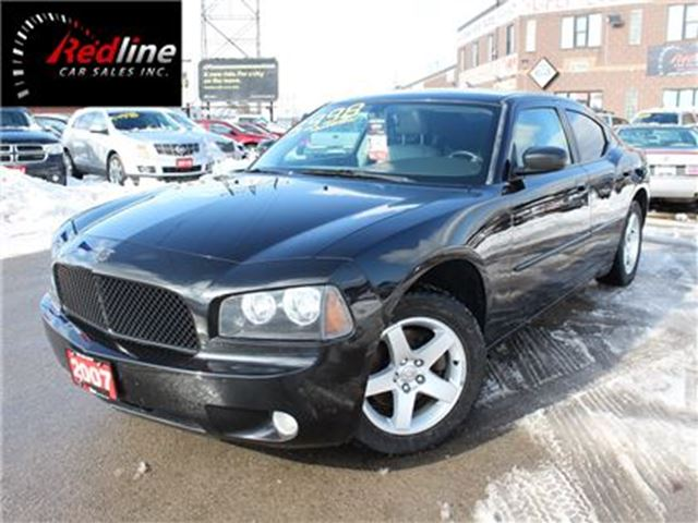 2007 DODGE CHARGER SXT 3.5L V6 Leather-Sunroof in Hamilton, Ontario