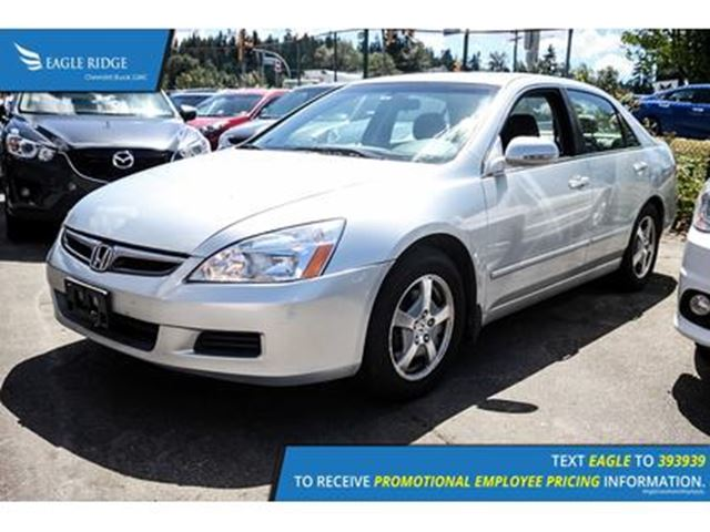 2007 HONDA ACCORD Hybrid Base in Coquitlam, British Columbia