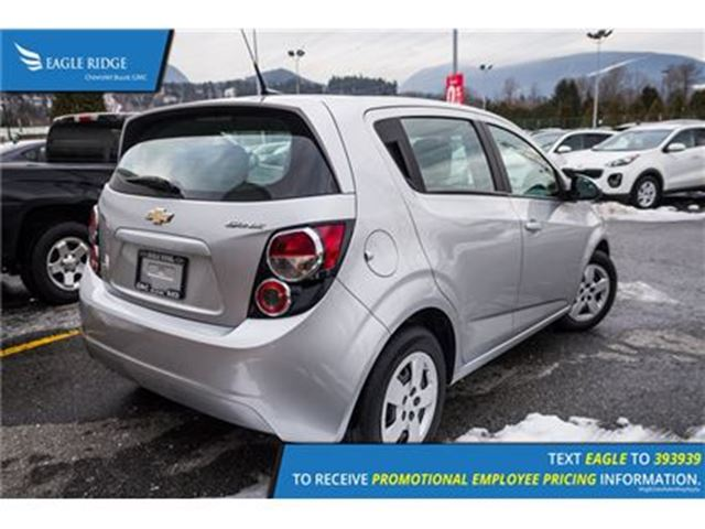 2014 CHEVROLET SONIC LS Auto in Coquitlam, British Columbia