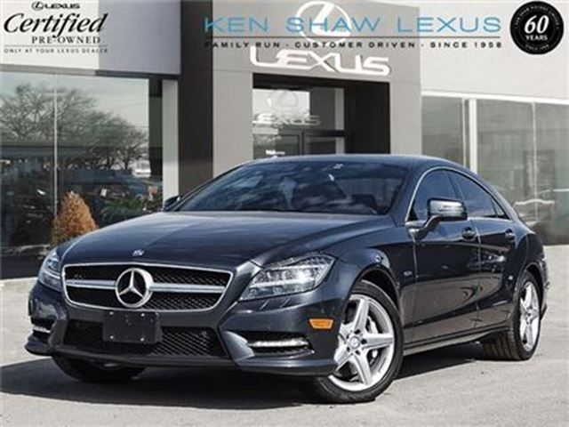 2012 MERCEDES-BENZ CLS-CLASS ** CLS550 4MATIC ** Clean Car Proof ** in Toronto, Ontario