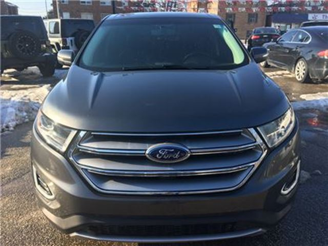2016 FORD EDGE SEL**AWD**LTHR**BACK-UP CAM**BLUETOOTH** in Mississauga, Ontario